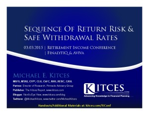 Sequence Of Return Risk & Safe Withdrawal Rates - Retirement Income Conference w- Aviva & FinalytiQ - Handouts-thumbnail