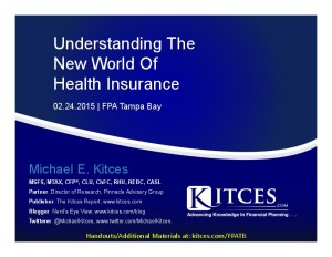 Understanding The New World Of Health Insurance - FPA Tampa Bay - Feb 24 2015 - Handouts-thumbnail