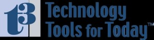 T3 Technology Tools For Today Conference Logo 2016