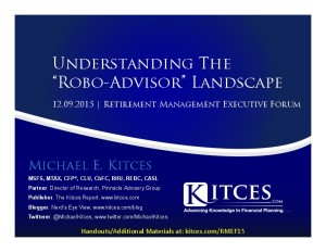 Understanding The Robo-Advisor Landscape - RMEF - Dec 9 2015 - Cover Page-thumbnail
