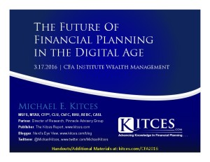 Future of Financial Planning in the Digital Age - CFA Institute - Mar 17 2016 - Cover Page-thumbnail