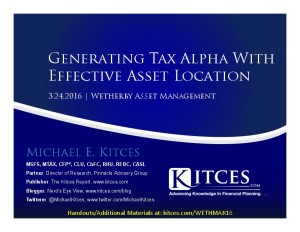 Generating Tax Alpha With Effective Asset Location - Wetherby - Mar 24 2016 - Cover Page-thumbnail