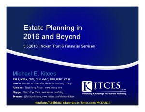 Estate Planning in 2016 and Beyond - Mokan Trust - May 5 2016 - Cover Page-thumbnail