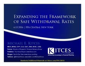 Expanding the Framework of Safe Withdrawal Rates - FPA Central NY - Jun 15 2016 - Cover Page-thumbnail