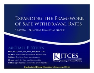 Expanding the Framework of Safe Withdrawal Rates - Principal Financial Group - May 24 2016 - Cover Page-thumbnail