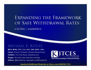 Expanding the Framework of Safe Withdrawal Rates - Ameriprise - Jun 28 2016 - Cover Page-thumbnail