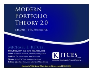Modern Portfolio Theory 2.0 - FPA Rochester - Jun 16 2016 - Cover Page-thumbnail