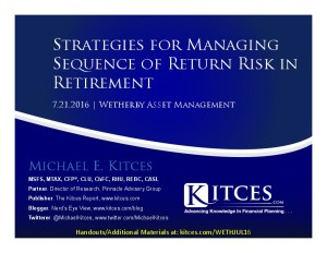 Strategies for Managing Sequence of Return Risk in Retirement It - Wetherby - Jul 21 2016 - Cover Page-thumbnail