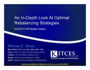 An In-Depth Look At Optimal Rebalancing Strategies - FPA Greater Indiana - Sep 9 2016 - Cover Page-thumbnail