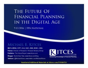 Future of Financial Planning in the Digital Age - FPA National - Sep 15 2016 - Cover Page-thumbnail