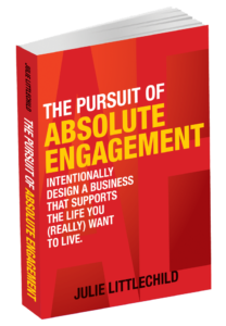 The Pursuit Of Absolute Engagement - Book Cover