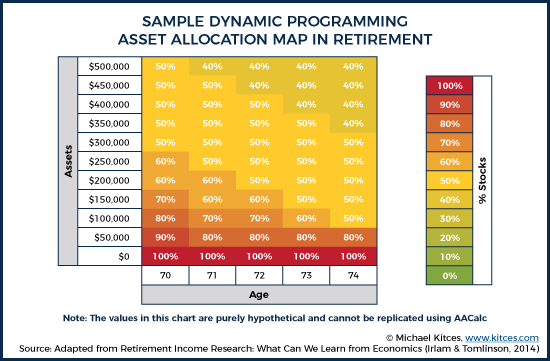 Sample Dynamic Programming Asset Allocation Map In Retirement