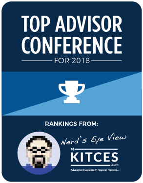 best conferences for top financial advisors to attend in 2018 – rankings from nerd's eye view | kitces.com