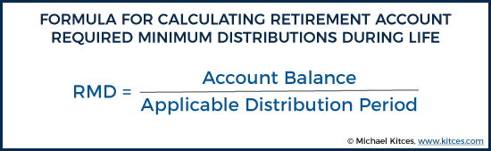 2018 Rules To Calculate Required Minimum Distributions Rmds