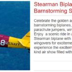 Stearman Biplane Ride and Barnstorming Show For One