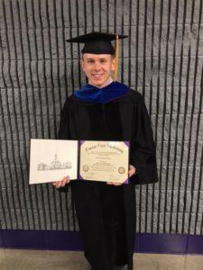Derek Graduation Photo