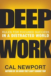 Deep Work Book Cover