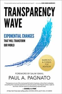 Image Of Transparency Wave Exponential Changes That Will Transform Our World Book Cover