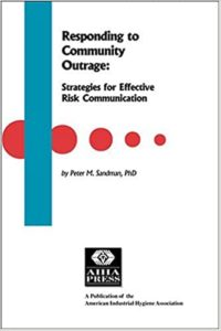 Responding to Community Outrage Book Cover