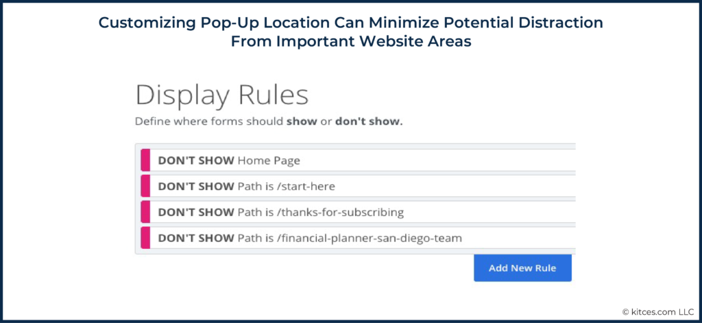 05 Customizing Pop-Up Location Can Minimize Potential Distraction From Important Website Areas